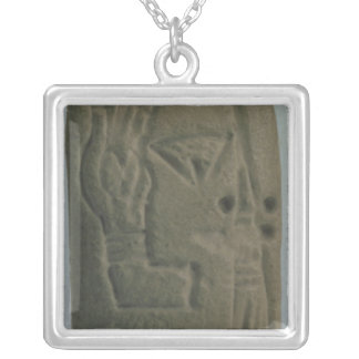 Document consisting of ideograms, from Uruk, Silver Plated Necklace