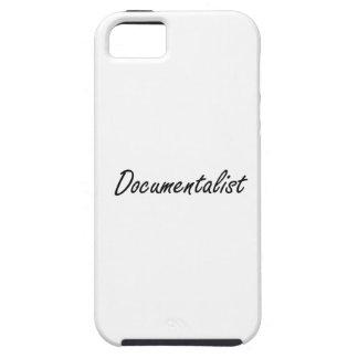 Documentalist Artistic Job Design iPhone 5 Cases