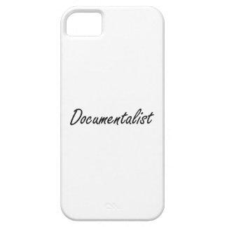 Documentalist Artistic Job Design iPhone 5 Covers