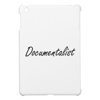 Documentalist Artistic Job Design iPad Mini Covers