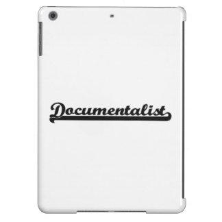 Documentalist Classic Job Design iPad Air Cover