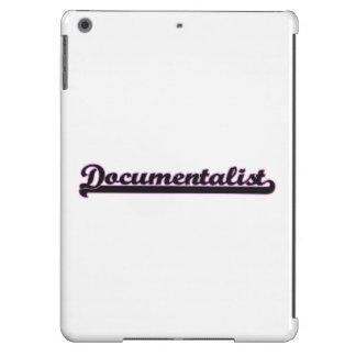 Documentalist Classic Job Design iPad Air Cases
