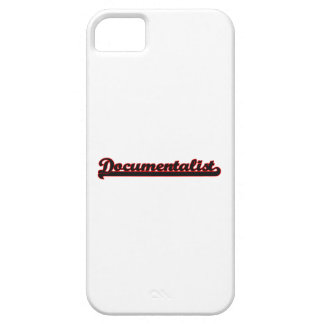 Documentalist Classic Job Design Barely There iPhone 5 Case
