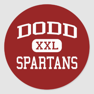 Dodd - Spartans - Middle - Cheshire Connecticut Stickers