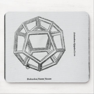 Dodecahedron, from 'De Divina Proportione' Mouse Mat