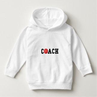 Dodge ball Kickball Coach Toddler Hoodie