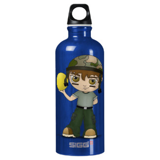 Dodge Ball Warrior SIGG Traveller 0.6L Water Bottle