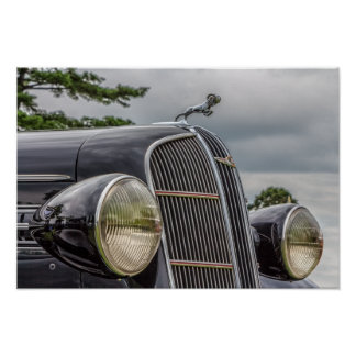 Dodge Brothers Hood Ornament Poster