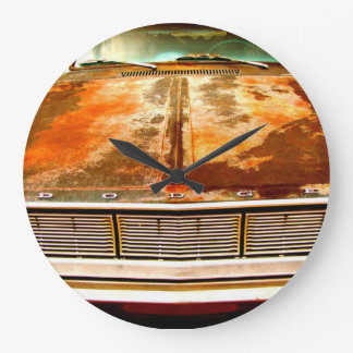 Dodge Car Large Clock