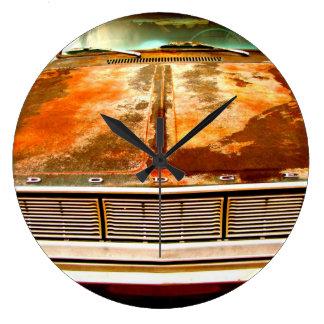 Dodge Car Large Clock