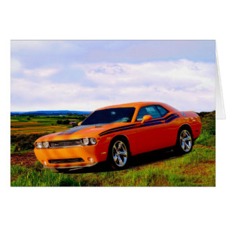 Dodge Challenger Card
