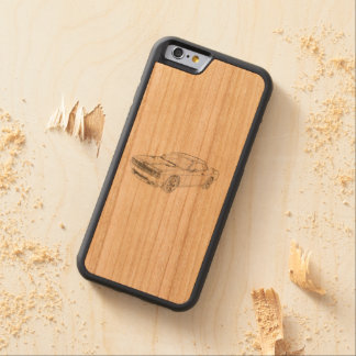 Dodge Challenger Carved® Cherry iPhone 6 Bumper