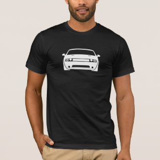 Dodge Challenger Graphic Dark Mens T-Shirt
