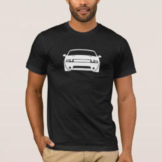 Dodge Challenger Graphic Dark Mens T-Shirt