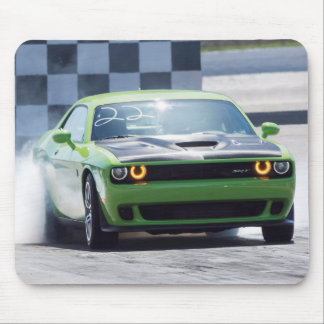 Dodge Challenger Hellcat Mouse Pad