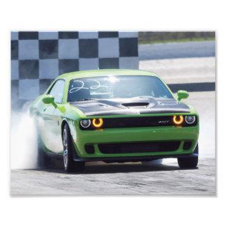 Dodge Challenger Hellcat Photo Print