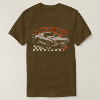 "Dodge Challenger Muscle Car T-shirt ""which Ted"""