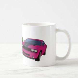 Dodge Challenger race Mugs
