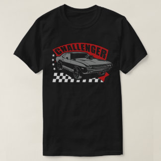 Dodge Challenger Racing Classic Muscle Car T-shirt