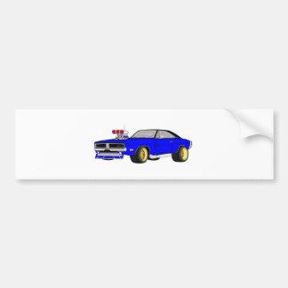 dodge charger bumper sticker