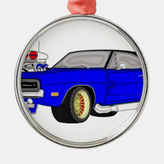 dodge charger christmas ornament