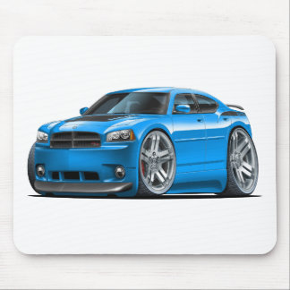 Dodge Charger Daytona Blue Car Mouse Pad