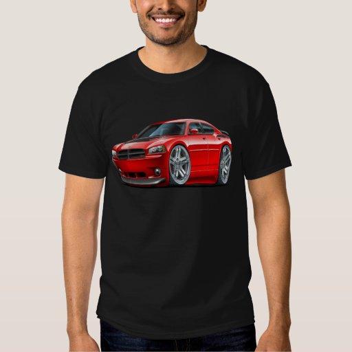 Dodge Charger Daytona Red Car Tee Shirts