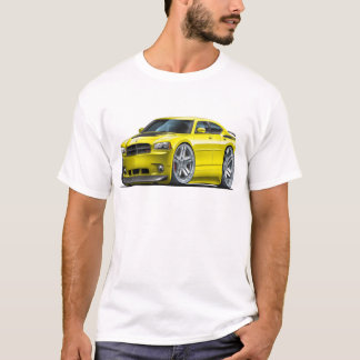 Dodge Charger Daytona Yellow Car T-Shirt