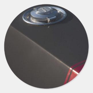 Dodge Charger Fuel cap Round Sticker