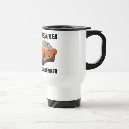 Dodge Charger General Lee Travel Mug