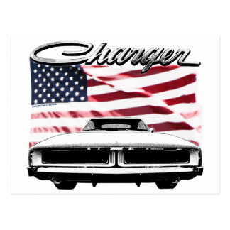 Dodge Charger Postcard