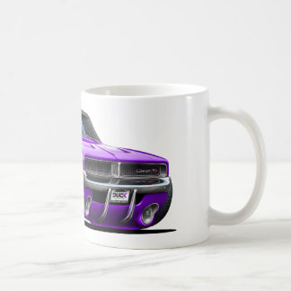 Dodge Charger Purple Car Coffee Mug
