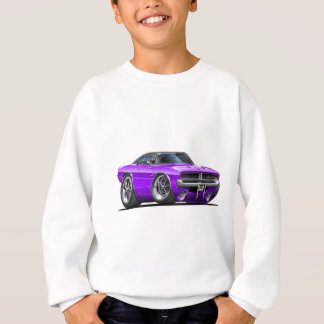 Dodge Charger Purple Car Sweatshirt
