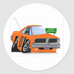 Dodge Charger Round Stickers