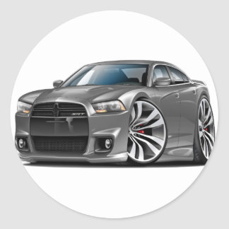 Dodge Charger SRT8 Grey Car Stickers