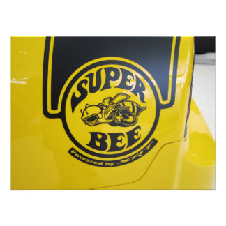 Dodge Charger SRT Super Bee Emblem Photo Print