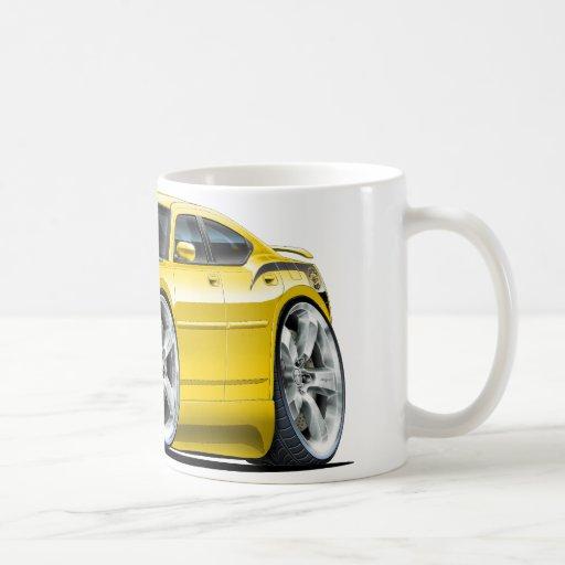 San Diego Chargers Coffee Mug: Dodge Charger Super Bee Yellow Car Coffee Mug