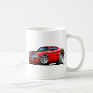 Dodge Demon Red Car Coffee Mug