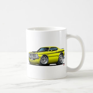 Dodge Demon Yellow Car Coffee Mugs