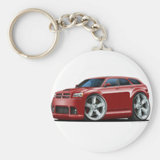 Dodge Magnum Maroon Car Key Ring