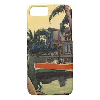 Dodge Motor Speed Boat Jungle Cruise iPhone 7 Case