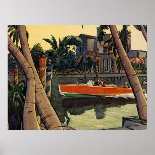 Dodge Motor Speed Boat Jungle Cruise Poster Zazzlecouk