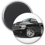Dodge SRT10 Ram Dualcab Black Fridge Magnets