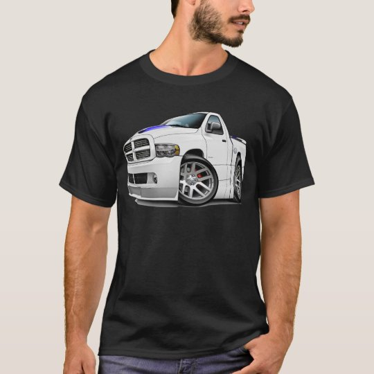 Dodge SRT10 Ram White T-Shirt