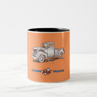 Dodge Trucks Two-Tone Coffee Mug