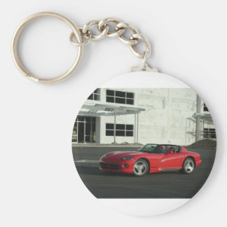 Dodge Viper RT/10 Basic Round Button Key Ring