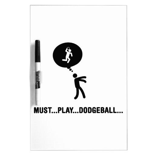 Dodgeball Dry Erase Boards