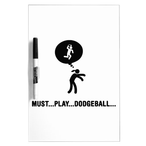 Dodgeball Dry-Erase Board