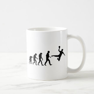 dodgeball evolution basic white mug