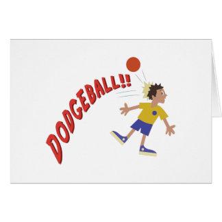 Dodgeball Greeting Card